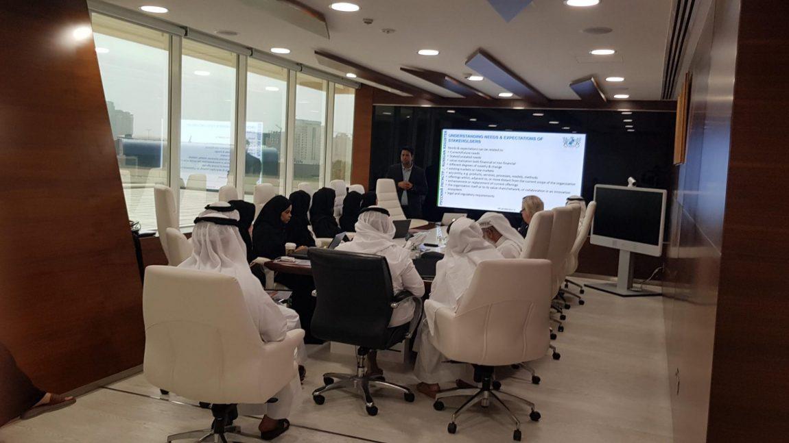 DEWA Training & Implementation Of Innovation Management System & Knowledge Management System.